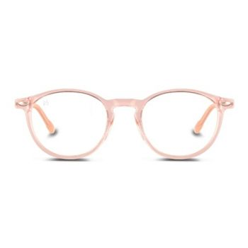 Nooz Cruzy Pink Frame With Blue Light Block - Size 45